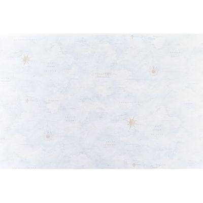 Обои Артекс Фрегат 10480-03 виниловые на флизелине 1,06х10,05м голубой