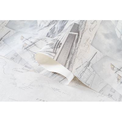 Обои Артекс Фрегат 10479-01 виниловые на флизелине 1,06х10,05м серый