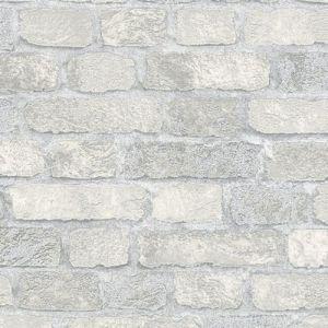Обои Marburg Brique 97986 виниловые на флизелине 1,06х10,05м серый