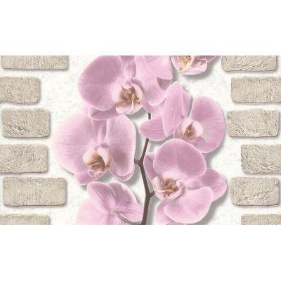 Обои Аспект Орхидея 10107-85 виниловые на бумаге 0,53х10,05м розовый
