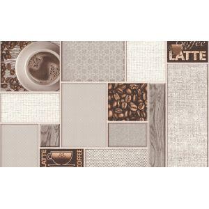 Обои Аспект Арабика 80009-25 виниловые на бумаге 0,53х10,05м бежевый
