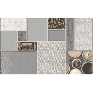 Обои Аспект Арабика 80009-24 виниловые на бумаге 0,53х10,05м серый