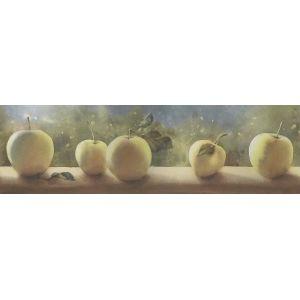 Плитка OS/A108/9016 Тракай 2 глянцевый декор  8,5х28,5