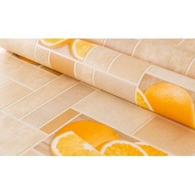 Обои Аспект Цитрус 10103-23 виниловые на бумаге 0,53х10,05м оранжевый