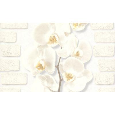 Обои Аспект Орхидея 10107-11 виниловые на бумаге 0,53х10,05м белый