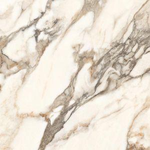 КерамогранитLaparet  Calacatta Bronze белый полированный  60х60