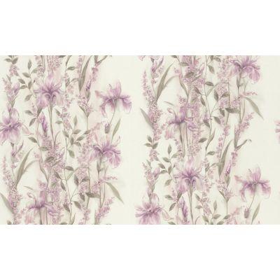 Обои Home Color Iris НС71714-15 виниловые на флизелине 1,06х10,05м белый