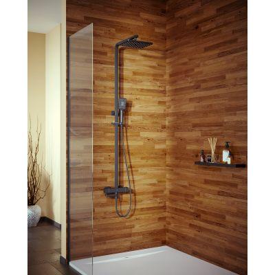 Душевая система с термостотом для ванны Timo Tetra-thermo SX-0169/03, черная