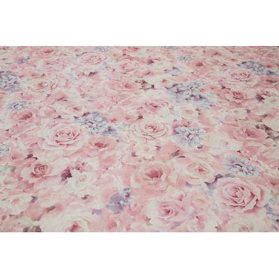 Обои Anturage Fiore 168462-14 виниловые на флизелине 1,06х10,05м розовый