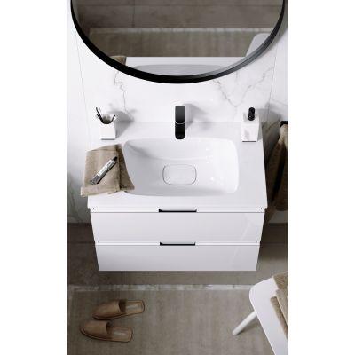 Тумба подвесная Aqwella Accent ACC0175W T75/W белый + раковина Malaga 75