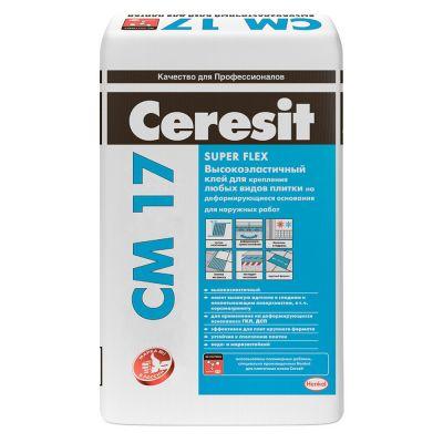 Клей плиточный Ceresit  СМ-17 25кг