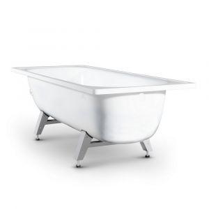 Стальная ванна Antika 1700х700х550, с ножками, без ручек