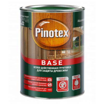 Грунтовка деревозащитная Pinotex Base 1л.