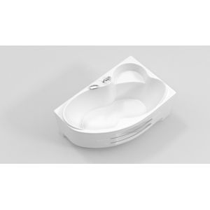 Акриловая ванна BellSan Индиго 1600х1005х715, левая, с экраном, без г/м