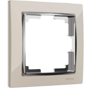 Рамка на 1 пост Werkel WL03-Frame-01-ivory (слоновая кость)