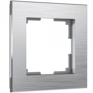 Рамка на 1 пост Werkel WL11-Frame-01 (алюминий)