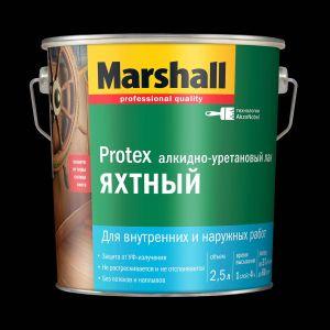 Лак Marshall Protex Яхтный полуматовый 2,5л.