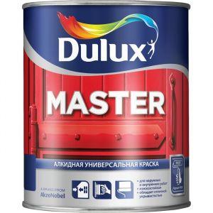 Краска Dulux Master 30 полуматовая универсального применения ВС 0,9л