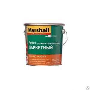 Лак Marshall Protex Паркетный глянцевый 2,5л.