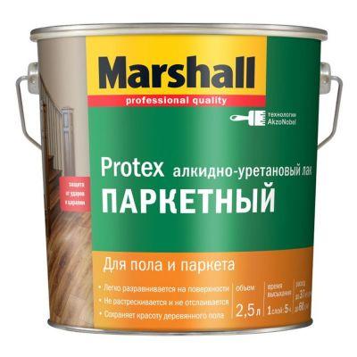 Лак Marshall Protex Паркетный полуматовый 2,5л.