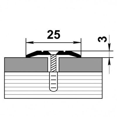 Профиль стыковочный ПС 01.1800.01л