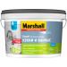 Краска Marshall Export матовая латексная повышенной влагостойкости для стен и потолков BW 2,5л