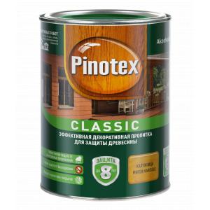 Пропитка для древесины Pinotex Classic Калужница 1л.