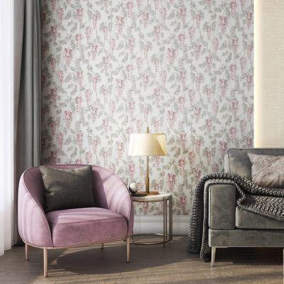 Обои Kerama Marazzi Эдем КМ5801 виниловые на флизелине 1,06x10,05м розовый