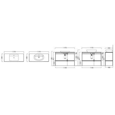 Металлическая структура Kerama Marazzi Plaza Next PL.N.120.01/BLK.M напольная, чёрный матовый