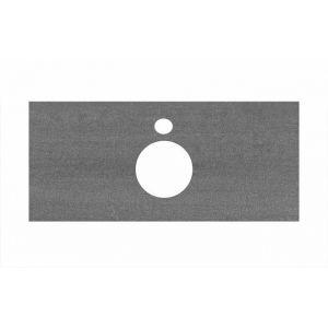 Столешница Kerama Marazzi Plaza PL1.DD500600R/100 Продабл антрацит, для накладных раковин (48х100см)