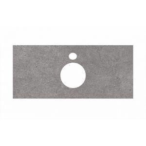 Столешница Kerama Marazzi Plaza PL1.DL500900R/100 Фондамента серый, для накладных раковин (48х100см)