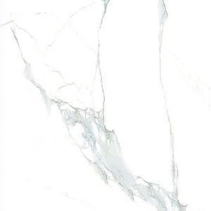 Керамогранит Laparet Statuario Classic белый полированный 60х60